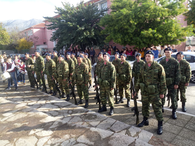 Θεσπρωτία: Εορτάστηκε στους Φιλιάτες Θεσπρωτίας η ημέρα των Ενόπλων Δυνάμεων (ΦΩΤΟ)