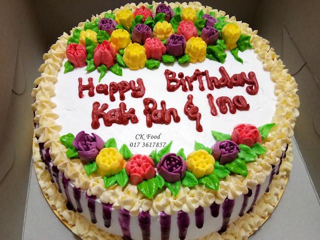 Cendana Kasih Tempahan Kek Birthday