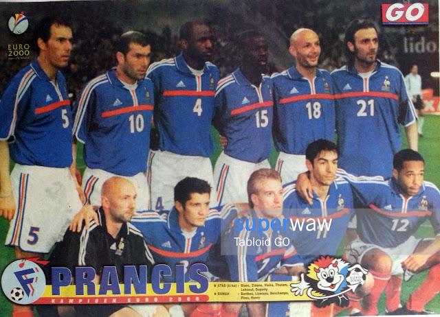 France Kampioen EURO 2000