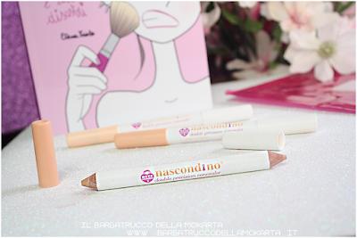matita correttore nascondino, double precision concealer , neve cosmetics