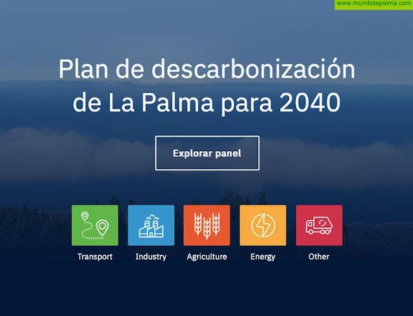 La Palma Renovable presenta la actualización de ClimateView, la herramienta para el desarrollo de la agenda de transición energética de La Palma
