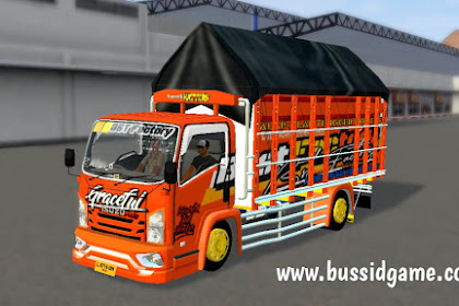 Mod Truck Isuzu NMR71 Gracefull By RMC Creation