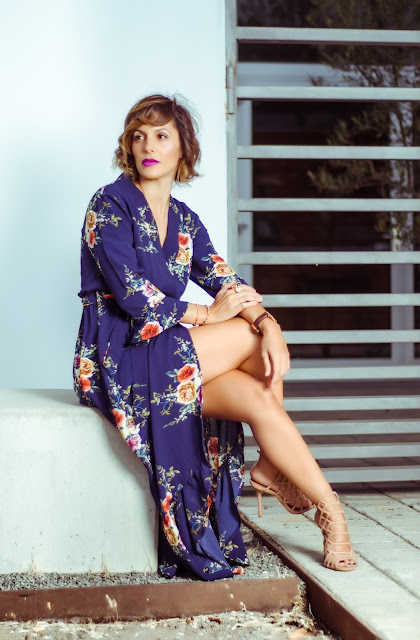 High-Slit-Floral-Maxi-Dress-Zaful