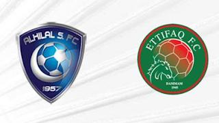 مشاهدة مباراة الهلال والإتفاق بث مباشر بتاريخ 06-11-2018 الدوري السعودي