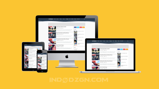 template super masbro gratis, template untuk blog personal, download template mocca simple