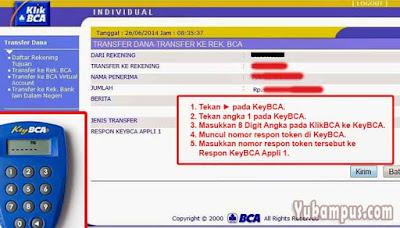 transfer i banking bca