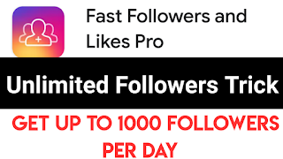 Fast Followers And Likes Pro Unlimited Trick 2021 || Get Unlimited Followers & Likes Smart Trick
