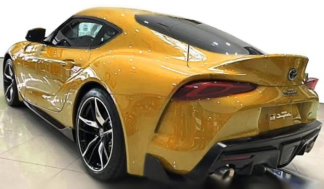 toyota supra 2020 exhaust and taillight