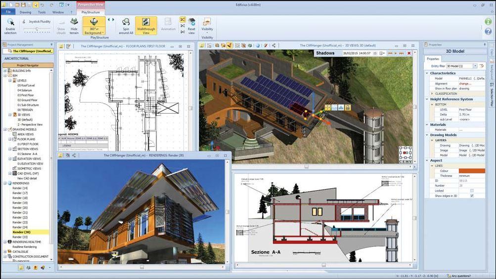Edificius Free BIM Software