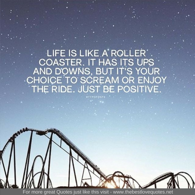 Life is Like Roller Coaster