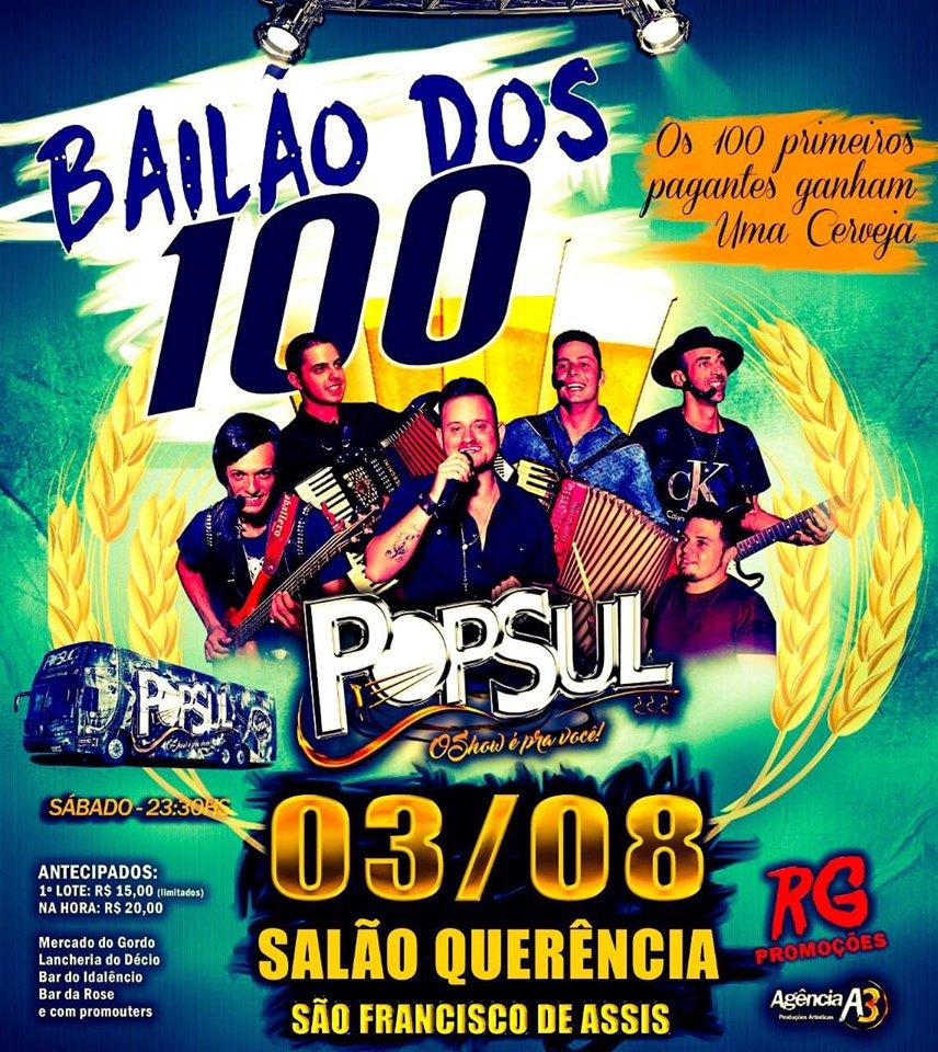 RG PRODUÇÕES - BAILÃO DOS 100