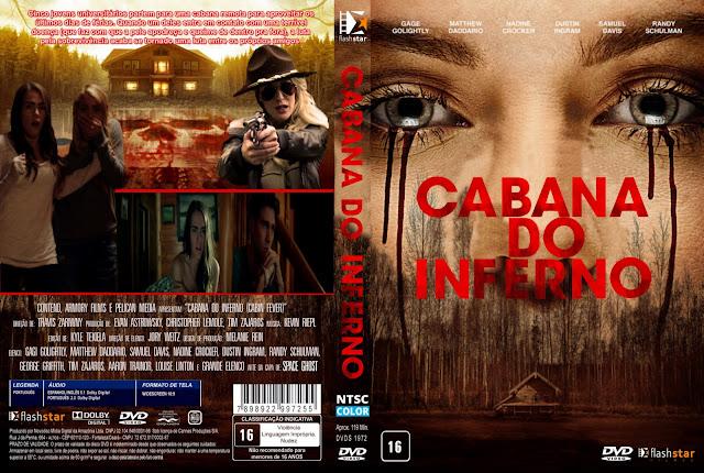 Capa DVD Cabana Do Inferno