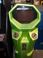 El arcade original de Space Race
