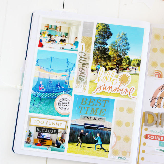 Heidi Swapp Storyline Chapters notebook