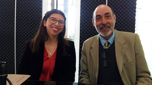 Carolina Acum y Pablo Correa Lira