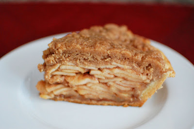 Apple Crisp Pie via Nutmeg Nanny