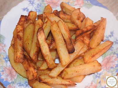 Cartofi condimentati prajiti la cuptor reteta,