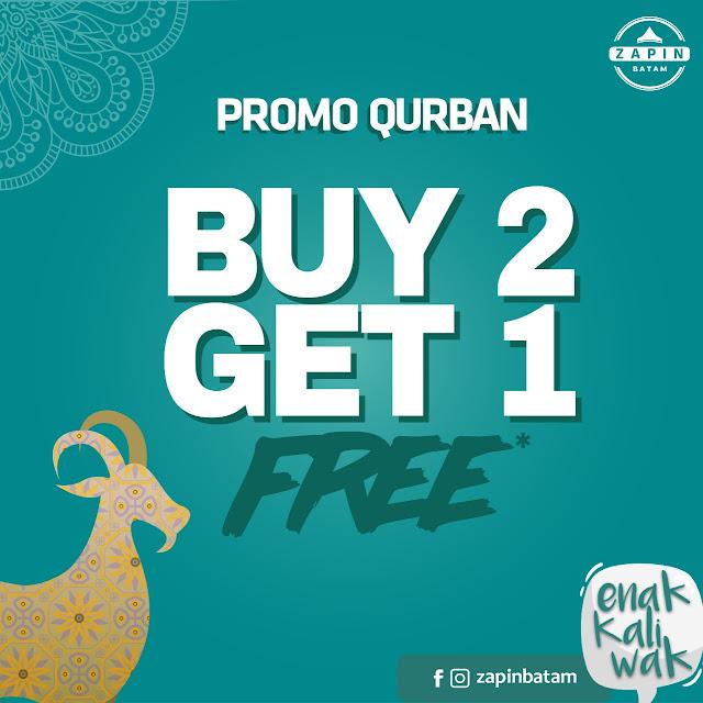 Promo Qurban Zapin Oleh Oleh Artis No 1 di Batam
