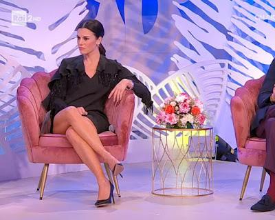 Bianca Guaccero gambe cosce belle conduttrici