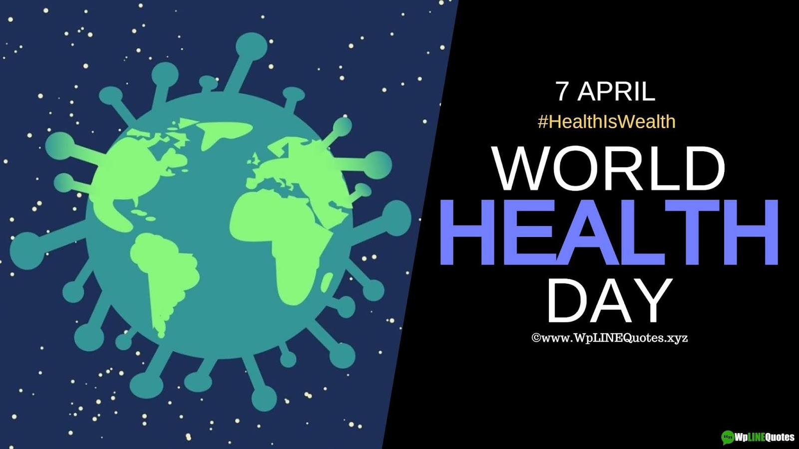 World Health Day Quotes, Wishes, Slogan, Message, Theme, Facts, Images, Drawing For Whatsapp & Facebook