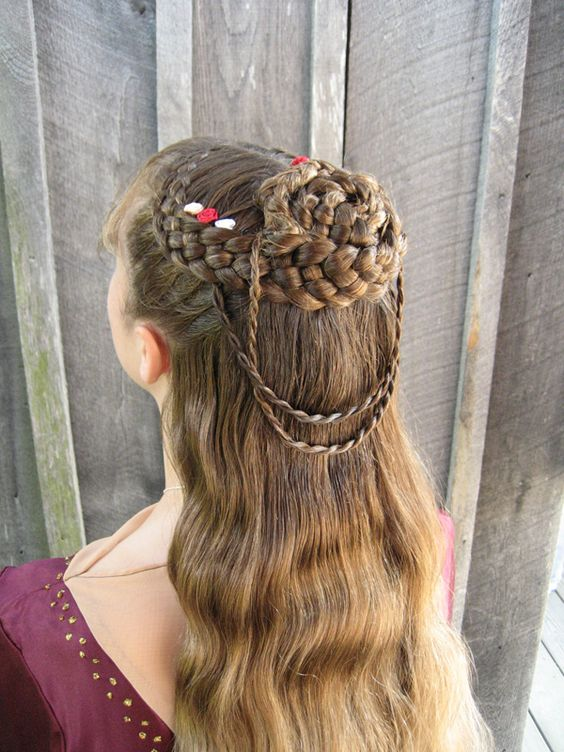 Celtic Hairstyles Wedding