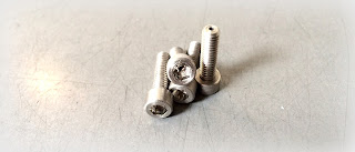8-32 X 1/4 socket head cap screw, vented, in Invar 36 material - made special/custom to print with Engineered Source as the supplier and distributor.  Engineered Source services Santa Ana, Orange County, Los Angeles, San Diego, Inland Empire, Socal, California, and the remainder of United States as well as Mexico