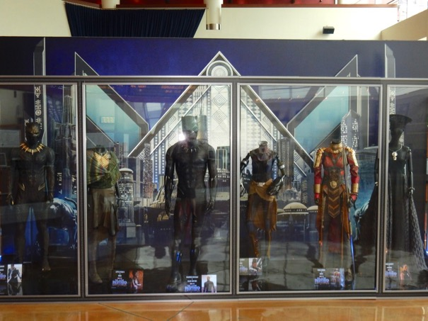Black Panther movie costumes ArcLight Hollywood