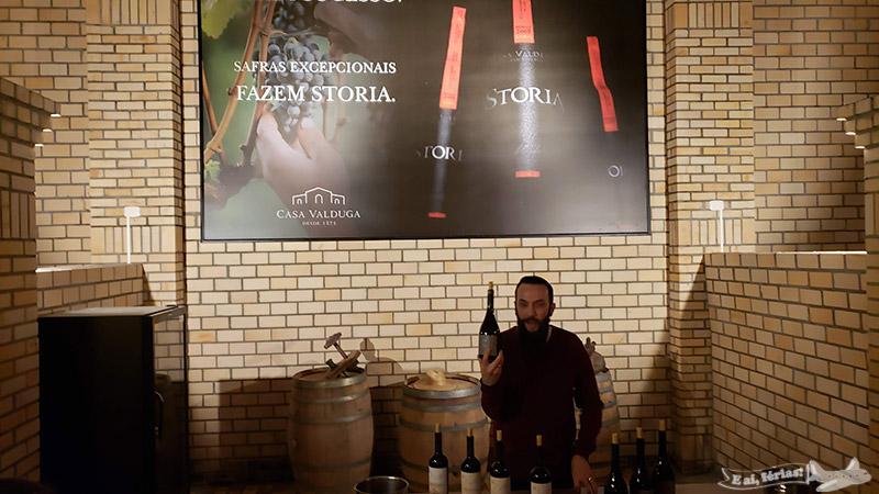 Mais umas dicas sobre os vinhos e harmonização na Casa Valduga.