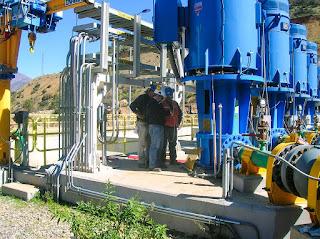 Sistema Agua Recuperada en Los Pelambres