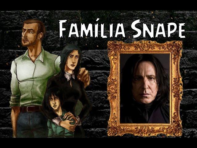 Conteúdo HB: Conhecendo a Familia Snape