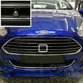 Parking Monitor Reverse & Front Camera for Ford Fiesta S 2016