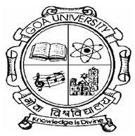 Goa University Admission