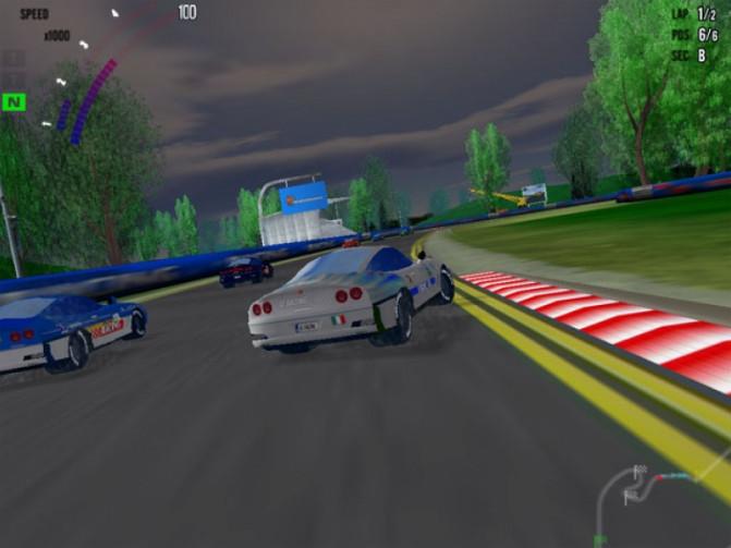 العاب سيارات حقيقية Hot Racing 2