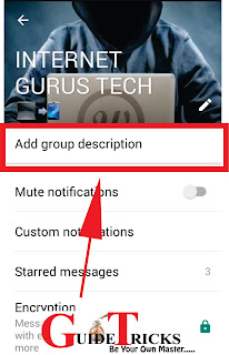 WhatsApp new Feature:  WhatsApp now allows you to add Group Description