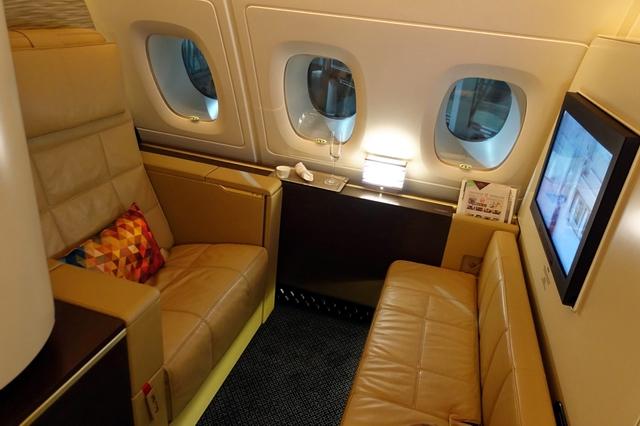 الاتحاد للطيران - سان فرانسيسكو إلى أبو ظبي