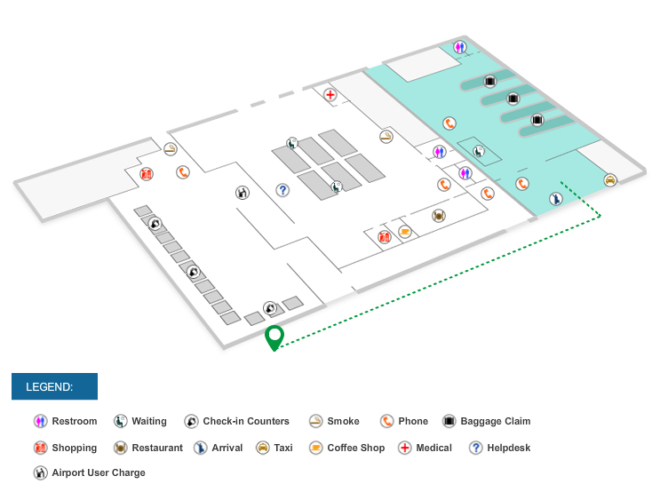 GrabCar Airport Pick-up Points at NAIA Terminals 1, 2, 3 and 4 (with
