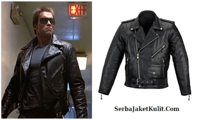 Model Jaket Kulit Motor ala Rock n Roll Arnold