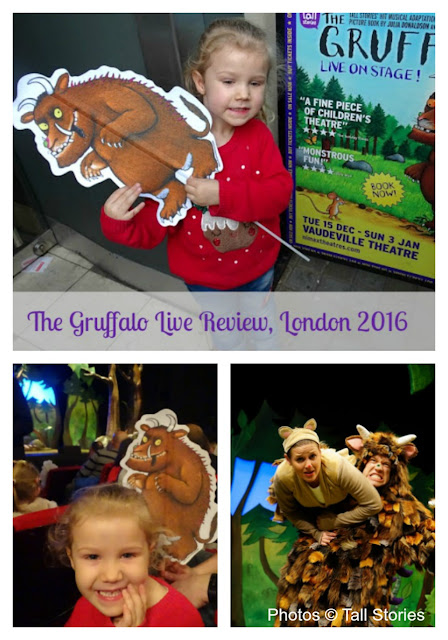 The Gruffalo Live London Theatre Show Review and Fun Activities Sheets