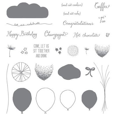 Balloon Celebration Stampin' Up!