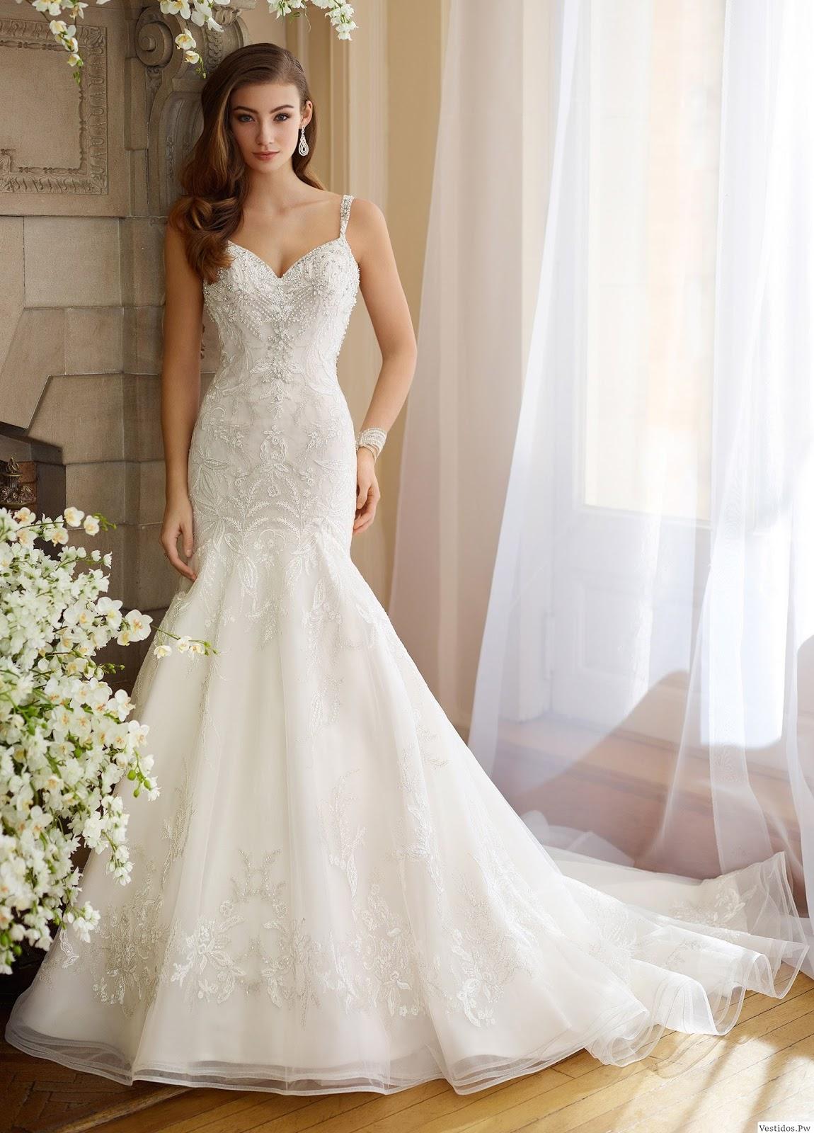 Moda en vestidos de novia 2018