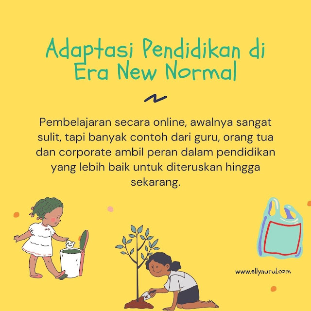 adaptasi pendidikan di era new normal
