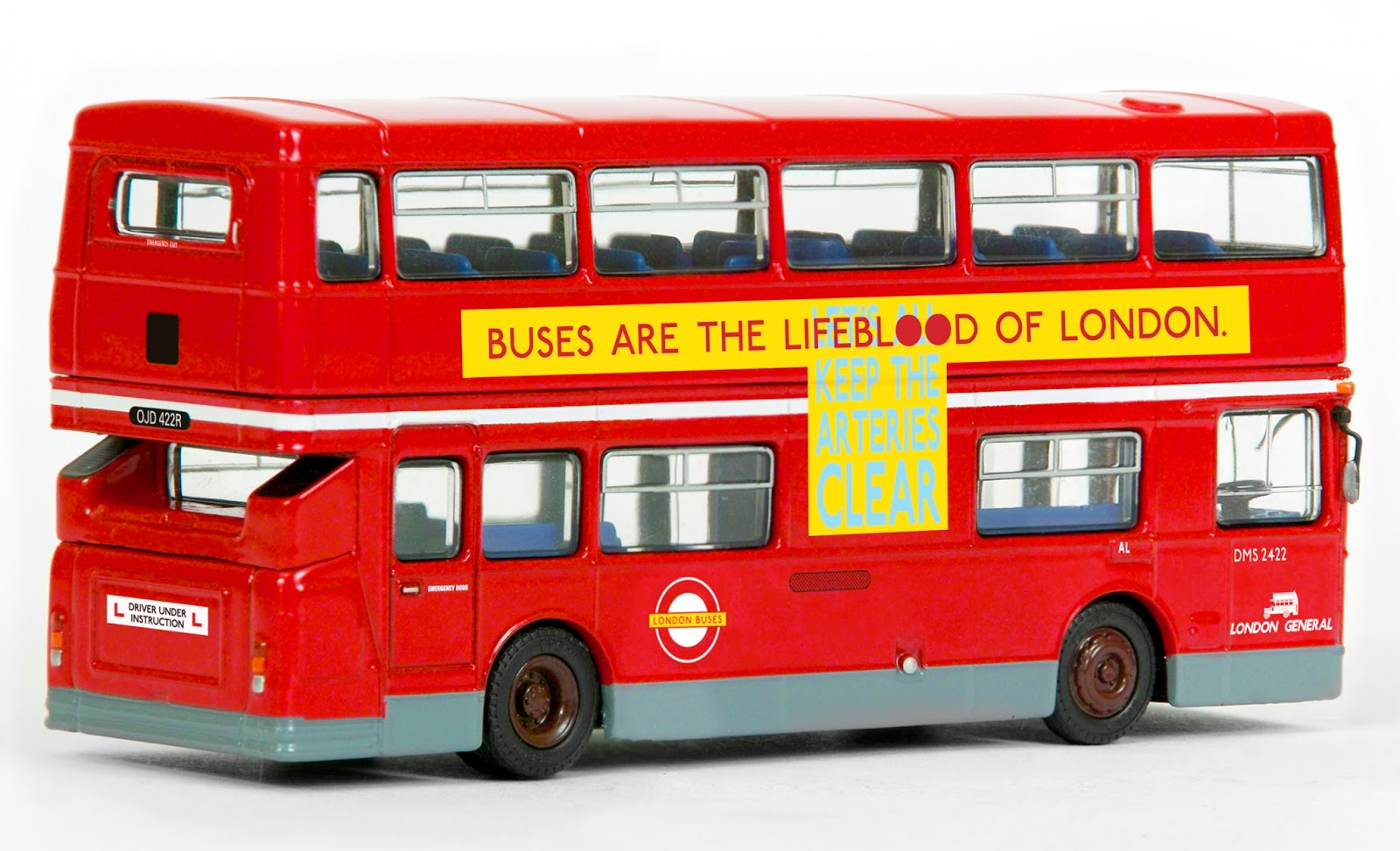 EXCLUSIVE FIRST EDITIONS Bachmann Exclusive: 31306 - Daimler B20 - London Driver Training Bus