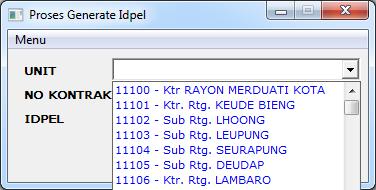 Idpel Generate PLN Wilayah Aceh