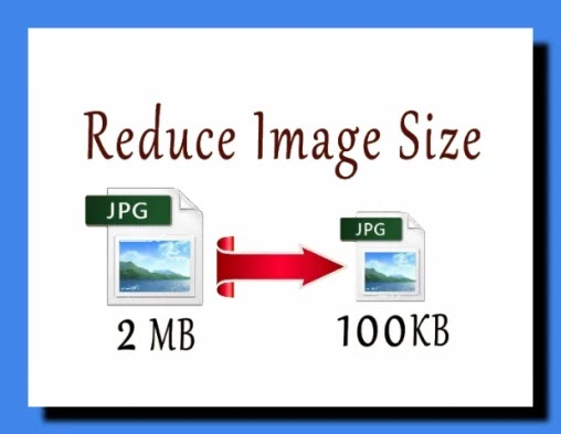 How to reduce/Resize photo size.
