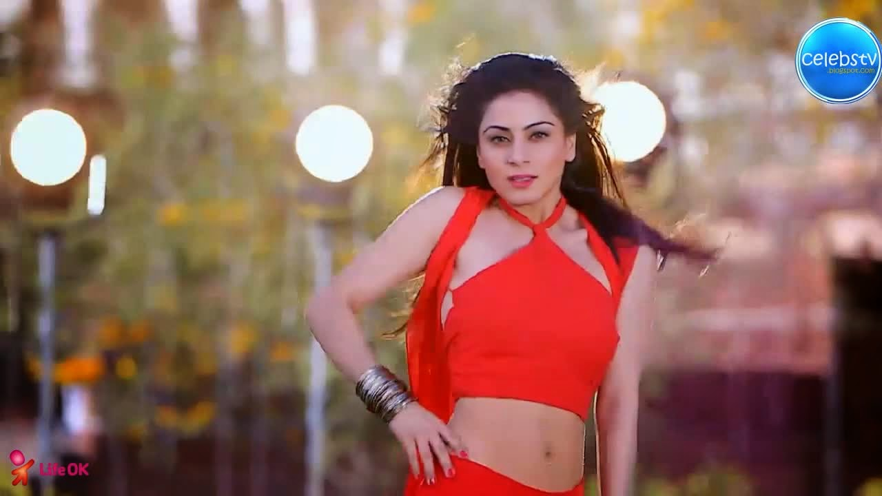 Shraddha Arya Hot And Sexy Bare Navel Show In Red Dress