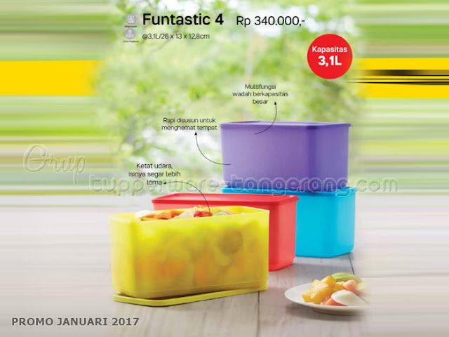 Fantastic 4 Promo Tupperware Januari 2017