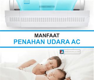 manfaat penahan angin AC reflektor AC