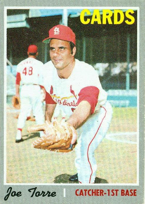 1970 Topps Baseball Joe Torre 190