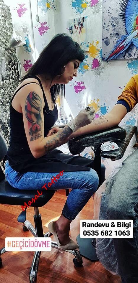 geçici dövme istanbul masal tattoo