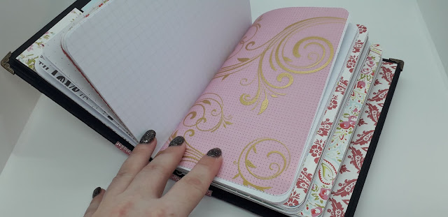 Handmade travellers notebook, positivelypapercraft,
